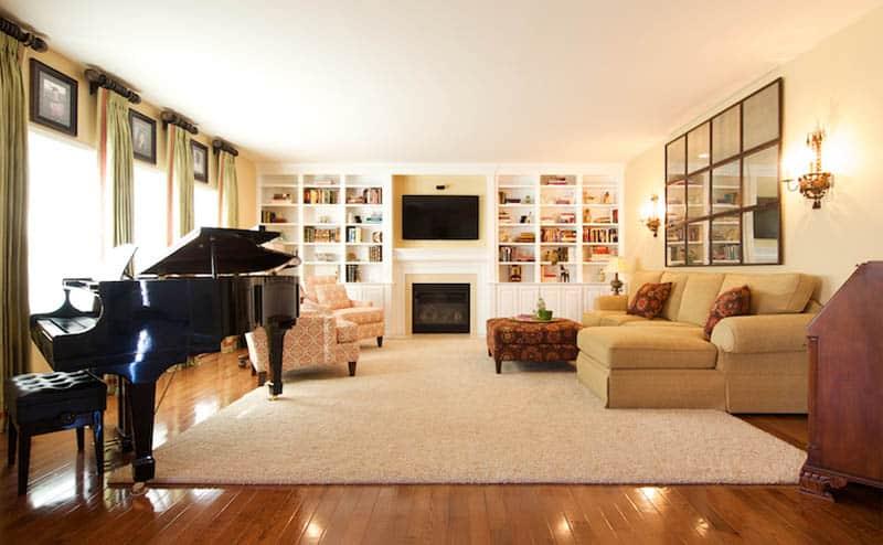Updated Traditional Interior Design Of Woodbridge Home